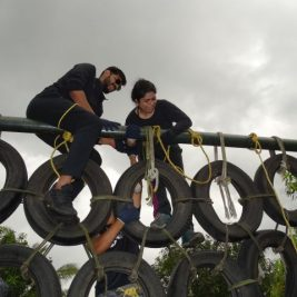 Daksha fellows took part in numerous adventurous activities at a recent outbound trip
